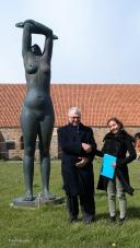 Burgemeester en Chantal Grard