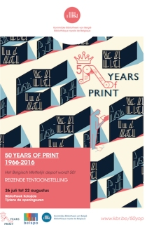 Affiche bib 50 years of print.indd
