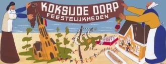 affiche1950Koksijde-dorp kermis kopie