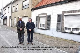 project ijzer en zee dorpsstraat odk