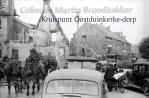 7-19 Oostduinkerke - hoek Leopold II laan en dorpsstraat (links nog een klein stukje van het stadhuis) 01-06-1940jpg copy