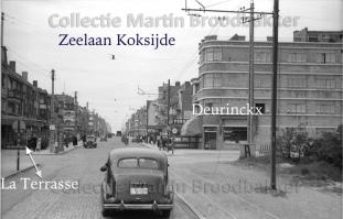 7-22 Koksijde bad - kruising Zeelaan - Lejeunelaan richting zee 01-06-1940 copy